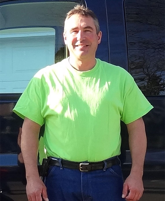 Mark Ripp, primary owner of Ripp Sewer and Drain Cleaning