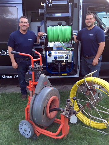 Mark and Chris Ripp of Ripp Sewer & Drain Cleaning